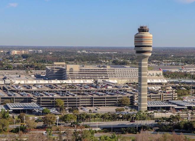 PHOTO VIA ORLANDO INTERNATIONAL AIRPORT/FACEBOOK