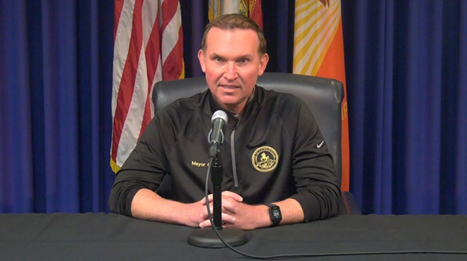 Jacksonville Mayor Lenny Curry announcing beach reopenings on April 16 - SCREENSHOT VIA CITY OF JACKSONVILLE, FLORIDA/YOUTUBE