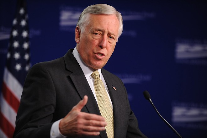 House Majority Leader Steny Hoyer - PHOTO VIA CENTER FOR AMERICAN PROGRESS/FLICKR CC