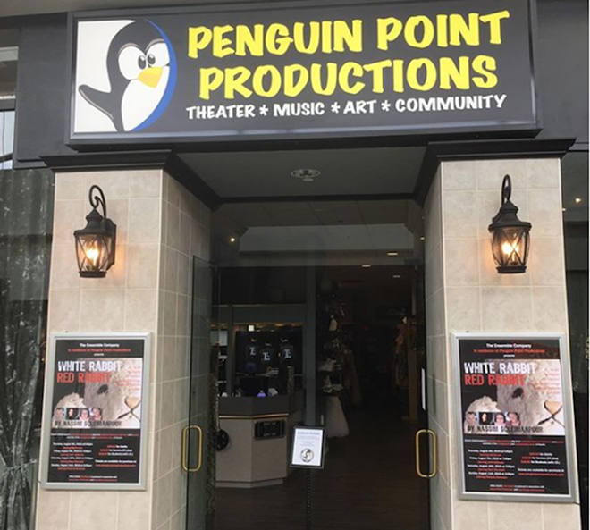 Penguin Point Proudctions, the home base of the Ensemble Company - PHOTO COURTESY PENGUIN POINT PROUDCTIONS/INSTAGRAM