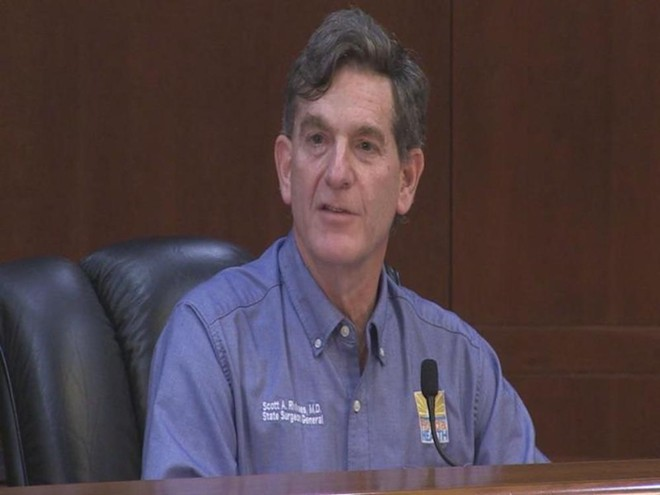 State Surgeon General Scott Rivkees - PHOTO VIA NEWS SERVICE OF FLORIDA