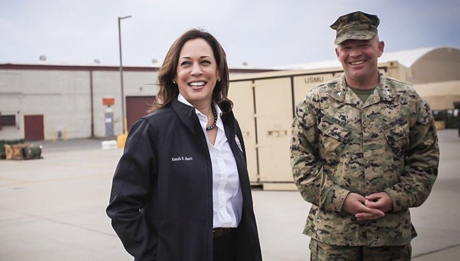 PHOTO VIA OFFICE OF SENATOR KAMALA HARRIS/WIKIMEDIA COMMONS