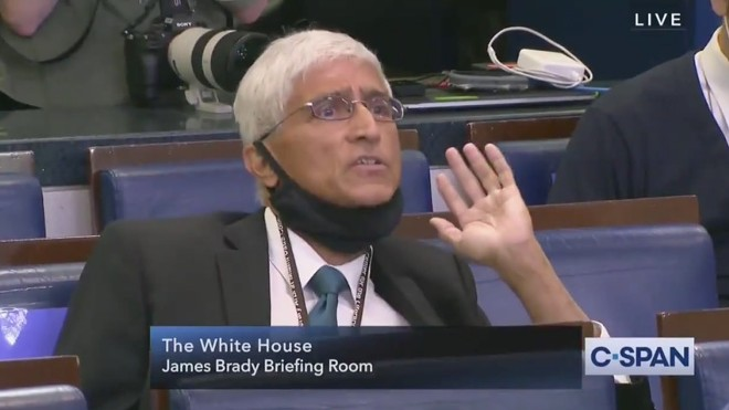 Shirish Dáte has a question. - SCREENGRAB VIA C-SPAN
