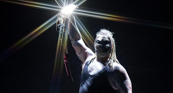 WWE wrestler 'The Fiend' - PHOTO COURTESY WWE/FACEBOOK