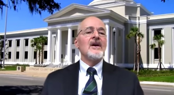 Florida Supreme Court Chief Justice Charles Canady - SCREENSHOT VIA FLORIDA SUPREME COURT/YOUTUBE