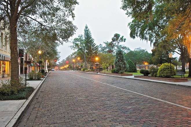 Winter Park's Park Avenue - PHOTO BY BARRY KIRSCH