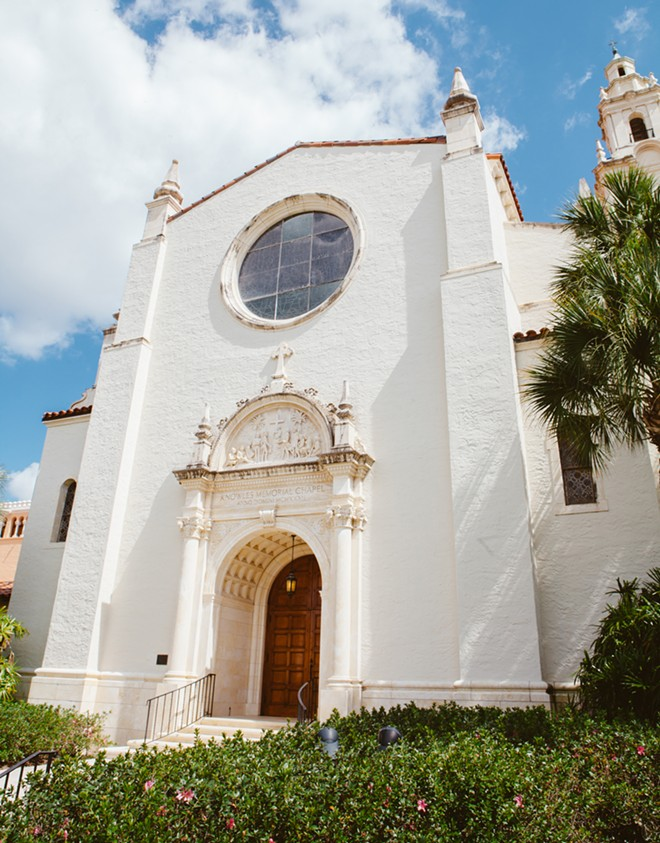 Knowles Chapel at Rollins College - PHOTO BY HANNAH GLOGOWER