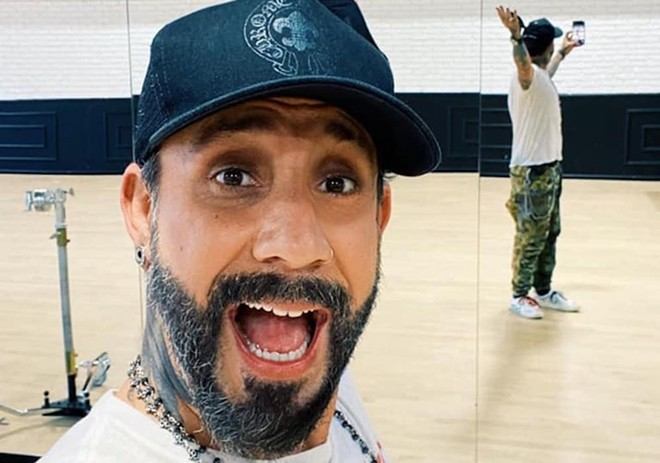 PHOTO COURTESY AJ MCLEAN/FACEBOOK