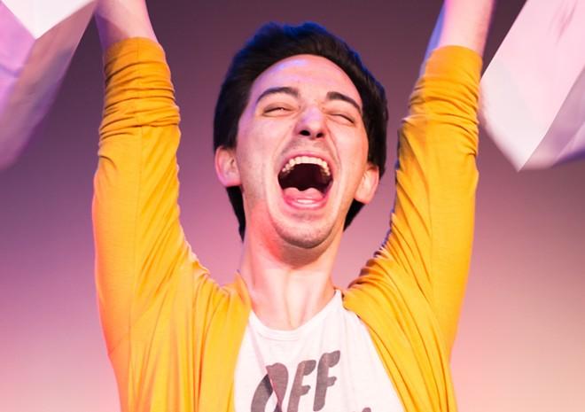 Ben Lamoureux in 'Mean Gays' - PHOTO BY ASHLEIGH ANN GARDNER