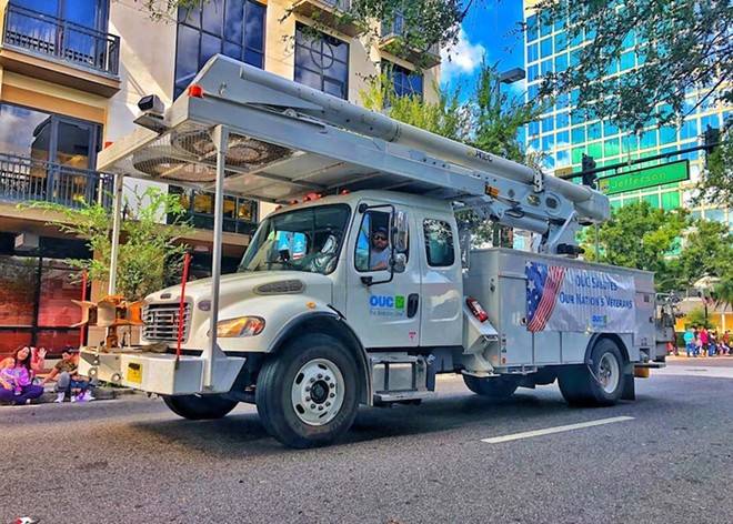 Orlando Utilities Commission was NOT among the Florida utility companies opposing the halt on disconnections. - PHOTO VIA OUC