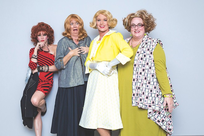 The infamous 'Ladies of Eola Heights' - PHOTO COURTESY OF THE PRODUCERS