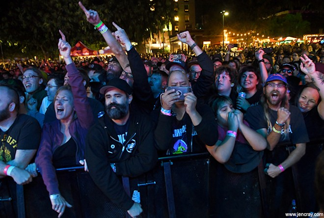 Crowd shot from FEST 18 in 2019 - PHOTO BY JEN CRAY FOR ORLANDO WEEKLY