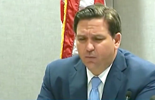 Gov. Ron DeSantis - SCREENSHOT VIA FLORIDA CHANNEL