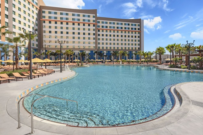 The pool at Dockside Inn and Suites - PHOTO COURTESY UNIVERSAL ORLANDO