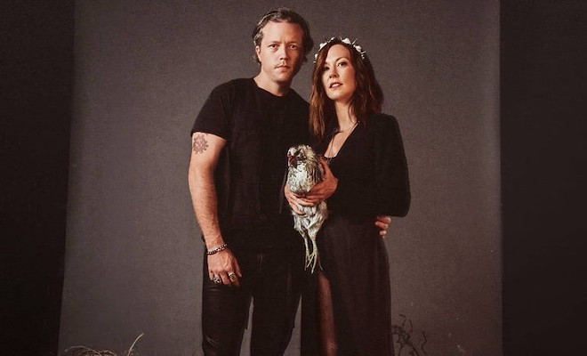 Jason Isbell & Amanda Shires - PHOTO COURTESY THE DR. PHILLIPS CENTER