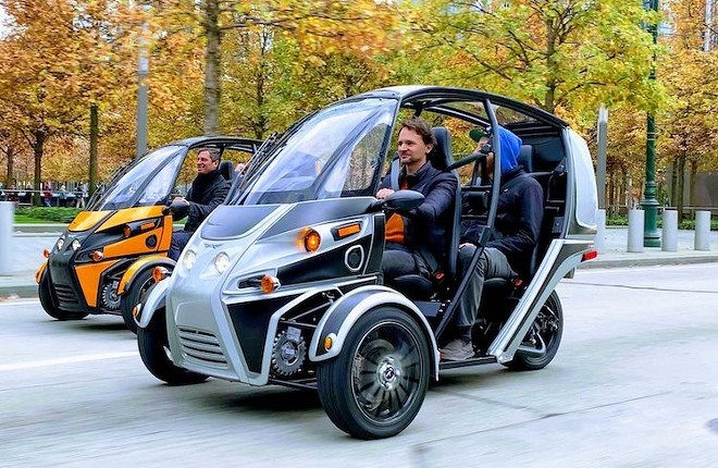 PHOTO COURTESY ARCIMOTO