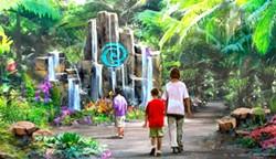Epcot's new Moana-inspired water trail - CONCEPT ART VIA DISNEY / D23 TWITTER