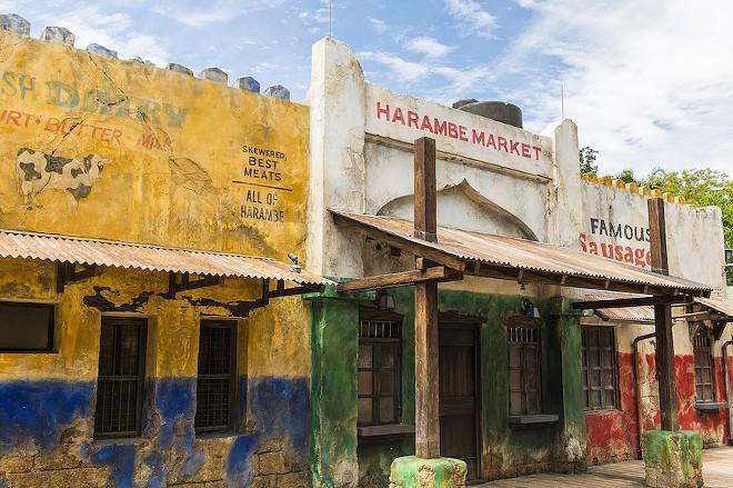 Harambe Market, a themed outdoor food hall, found within Disney's Animal Kingdom - PHOTO VIA DISNEY
