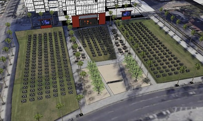 Frontyard Festival layout - PHOTO COURTESY OF DR. PHILLIPS CENTER