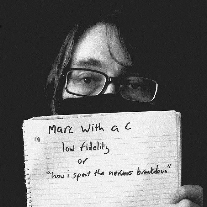 Marc with a C - PHOTO BY CAT BLACKARD