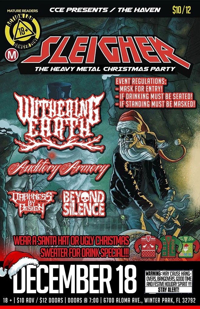 Sleigher: The Heavy Metal Xmas Party