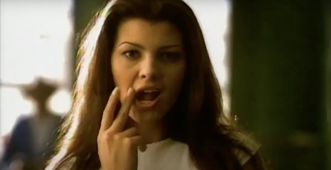 Ali Landry - SCREEN CAPTURE COURTESY THE HALL OF ADVERTISING/YOUTUBE