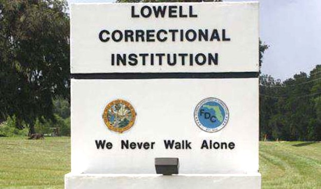 PHOTO COURTESY FLORIDA DEPARTMENT OF CORRECTIONS
