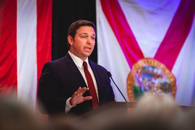 'Violence or rioting of any kind is unacceptable,' said DeSantis. - PHOTO COURTESY RON DESANTIS/FACEBOOK