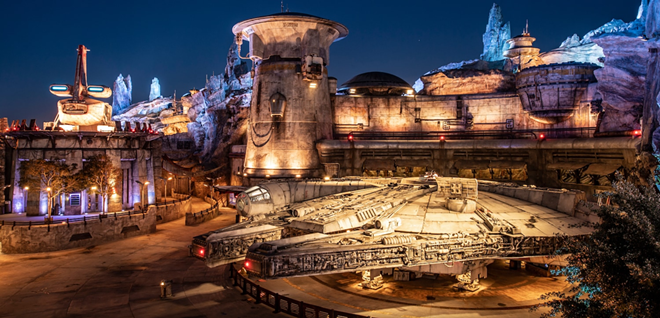 Millennium Falcon: Smugglers Run at Star Wars: Galaxy's Edge at Disney's Hollywood Studios - IMAGE VIA DISNEY