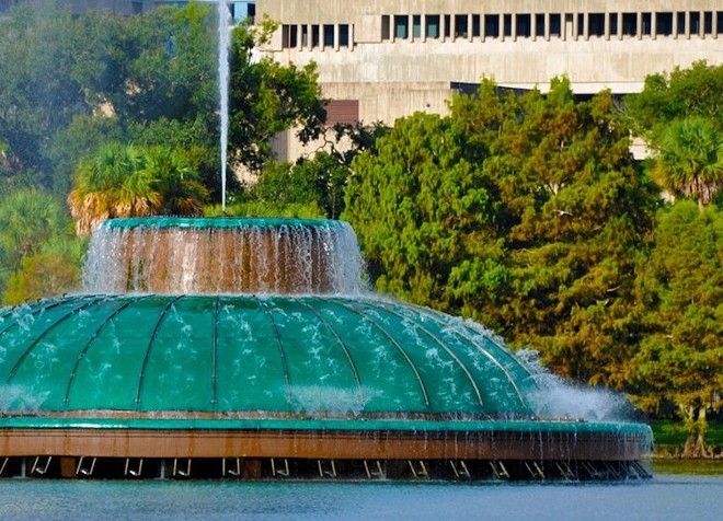 Lake Eola Park - PHOTO COURTESY ORLANDO LAND TRUST/FACEBOOK