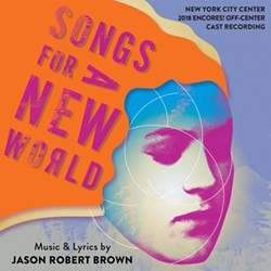 CD cover of the New York City Center's 2018 Encores! Off-Center production of 'Songs for a New World'