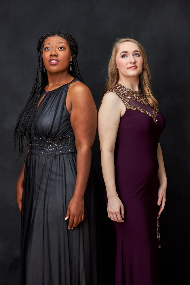Zoe McCray and Jessica Raspolich - PHOTO COURTESY OF ZOE MCCRAY