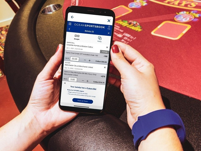 The Ocean Casino Sportsbook available on Princess Cruises - IMAGE VIA PRINCESS CRUISES