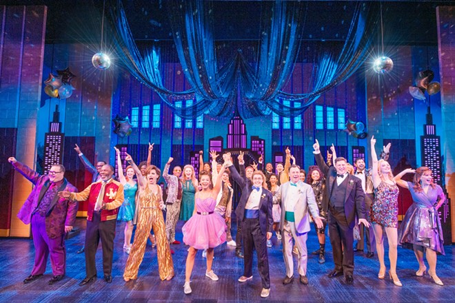"The touring cast of Broadway's ""The Prom"" - PHOTO BY DEEN VAN MEER COURTESY OF DR. PHILLIPS CENTER"