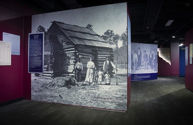 Yesterday, This Was Home: The Ocoee Massacre of 1920 exhibit on display at the History Center through March 7, 2021. - IMAGE VIA ORANGE COUNTY REGIONAL HISTORY CENTER