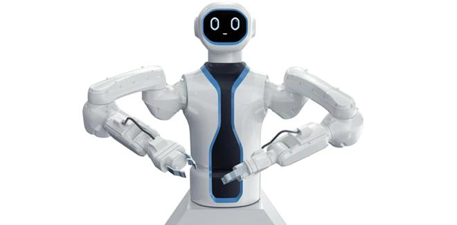 Rob, the robotic bartend on the MSC Virtuosa - IMAGE VIA MSC CRUISES