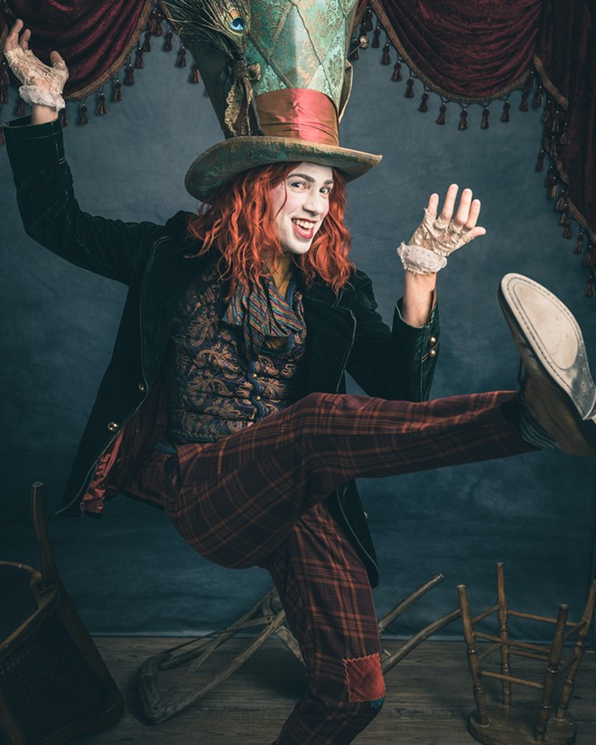 The Mad Hatter - PHOTO BY MIKE DUNN