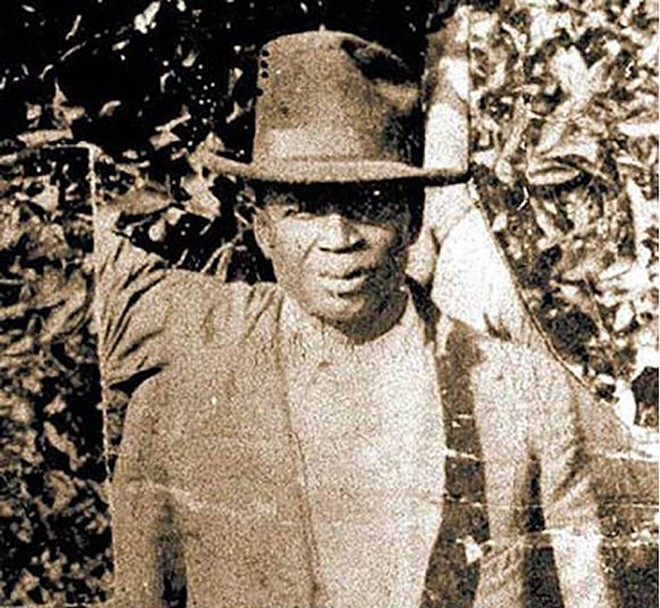 """Julius """"July"""" Perry, an Ocoee resident, was lynched in Orlando by a white mob after encouraging his African American neighbors to vote. - PHOTO VIA FLORIDA HISTORY PROJECT"""