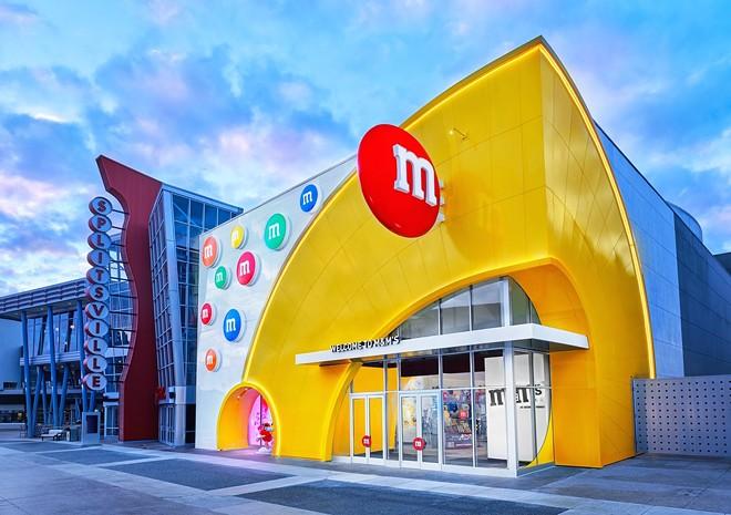 The new M&M's store at Disney Springs - IMAGE VIA MARS WRIGLEY | M&M'S