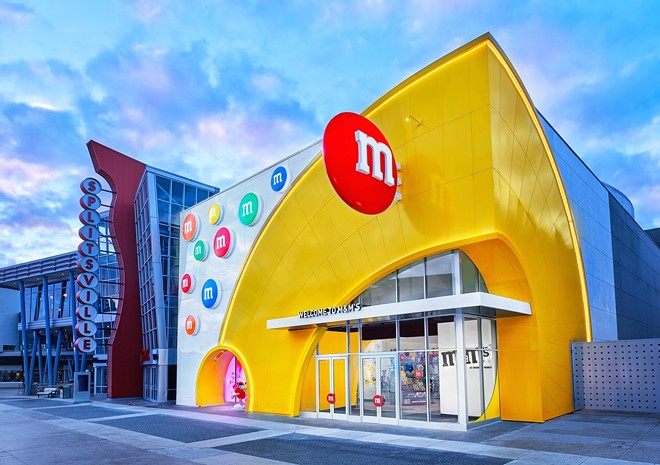 The new M&M's store at Disney Springs - IMAGE VIA MARS WRIGLEY | M&M'S