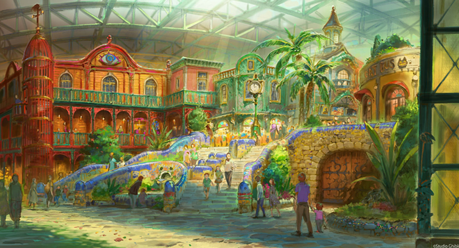 Ghibli's Giant Warehouse - IMAGE VIA AICHI PREFECTURE POLICY PLANNING BUREAU