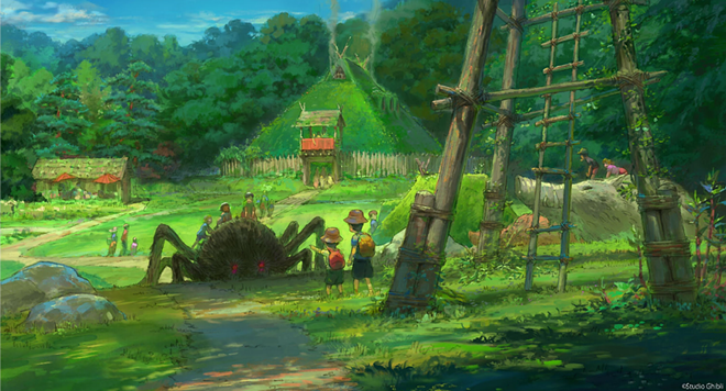 Princess Mononoke Village at Ghibli Park - IMAGE VIA AICHI PREFECTURE POLICY PLANNING BUREAU