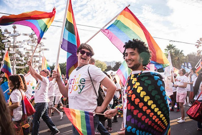 Orlando Come Out With Pride festivities in 2016 - PHOTO BY AILEEN PERILLA