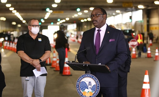 Mayor Jerry Demings - PHOTO COURTESY ORANGE COUNTY GOVERNMENT, FL/FACEBOOK