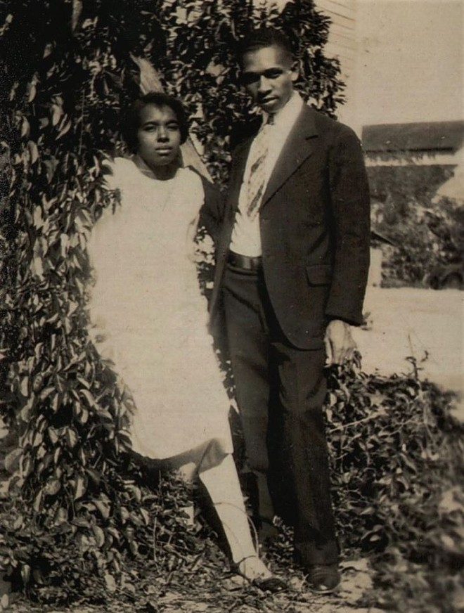Harry T. and Harriette Moore - PHOTO COURTESY OF DARREN PAGAN AND WUCF