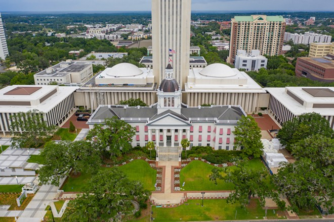 The Florida state capitol. - ADOBE