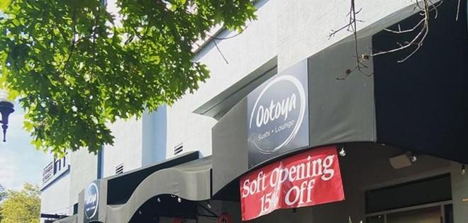 Ootoya Sushi Lounge opens on March 16. - PHOTO VIA INSTAGRAM/OOTOYA SUSHI LOUNGE