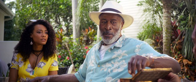 "Ashley Jones and John Amos star in ""Because of Charley,"" this year's opening film. - IMAGE COURTESY FLORIDA FILM FESTIVAL"