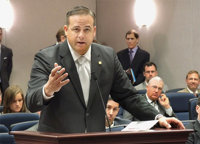 Former State Senator Frank Artiles is facing  felony charges around alleged campaign finance violations. - PHOTO VIA FLORIDA HOUSE