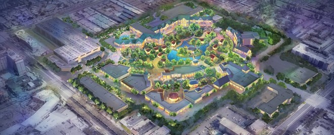 Concept art for the Disneyland Forward proposal - IMAGE VIA DISNEY